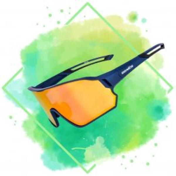 Blå skalmade glasögon ur Bonés Accessoarer