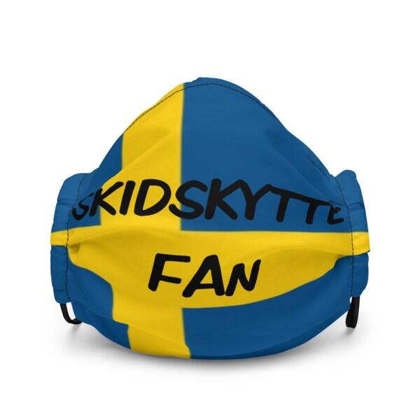 Fan mask swedish biathlon som döljer