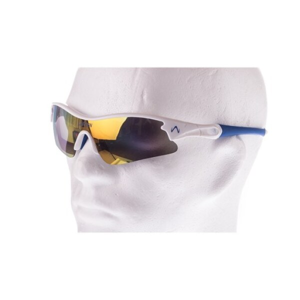 Bra glasögon för skidskytte.